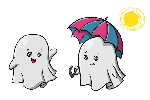 귀여운 유령 만화