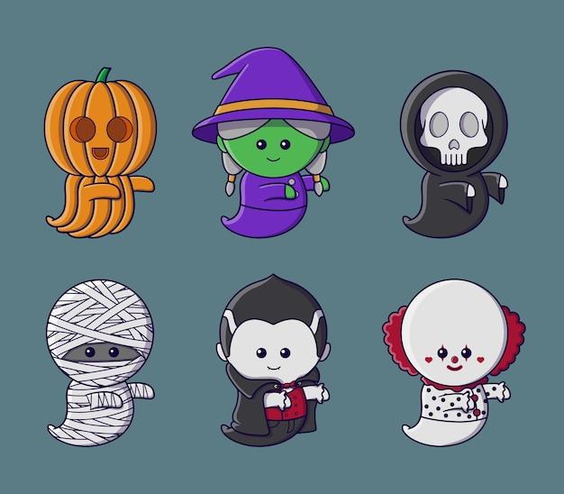귀여운 유령 컬렉션
