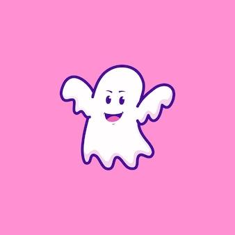 귀여운 유령 디자인