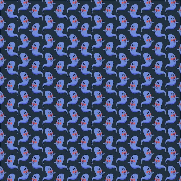 귀여운 유령 패턴