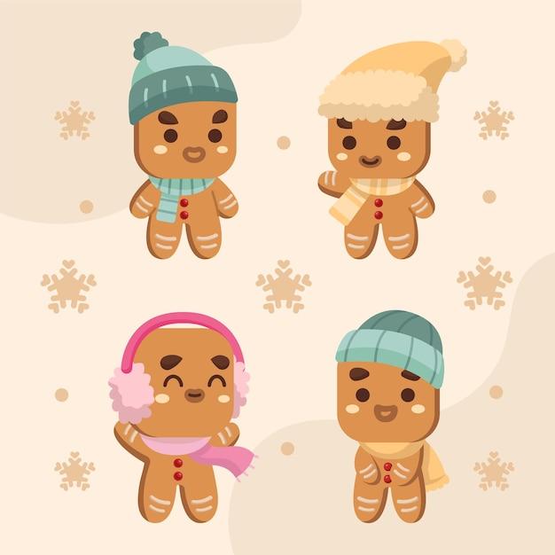 귀여운 진저 쿠키 컬렉션