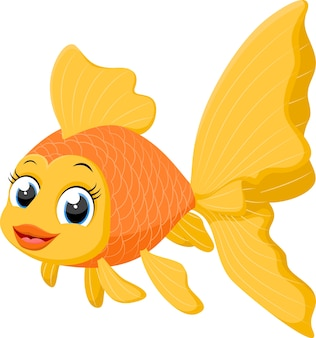 かわいい金魚の漫画