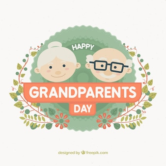 かわいい祖父母の日のデザイン
