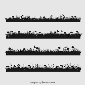 Cute grass collection