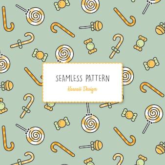귀여운 할로윈 완벽 한 패턴