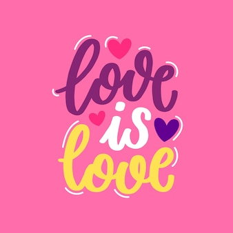 Cute happy valentine's day lettering