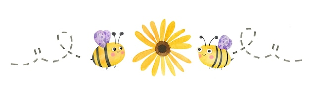 Cute honey bees for may 20 international bee day