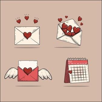귀여운 아이콘 봉투 모음