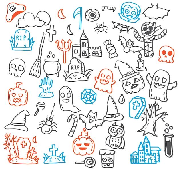 Cute illustration of halloween.
