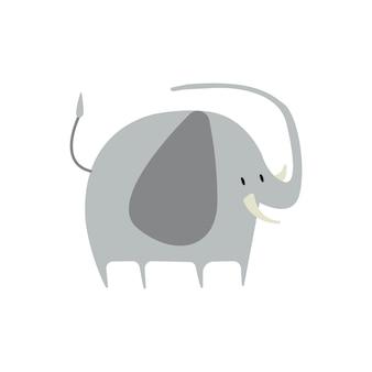 Cute illustration of an elephant