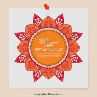 Cute india republic day notice