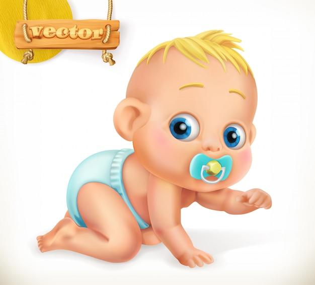 Cute kid. baby.