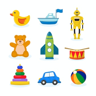 Cute kids toys collection