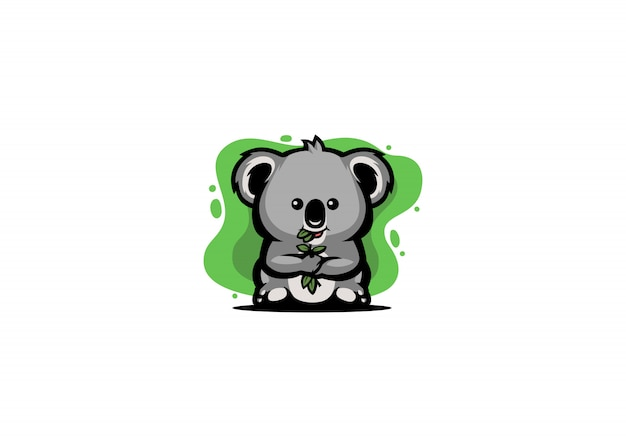 Cute koala illustration