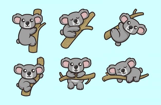 かわいいコアラのマスコット