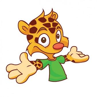Design carino leopardo