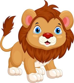 かわいいライオンの漫画