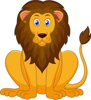 かわいいライオン漫画