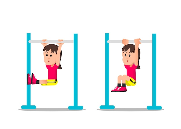 A cute little girl with some pull ups