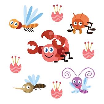 Симпатичные маленькие серии мультфильмов
