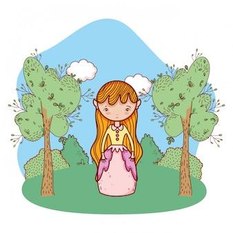 Cute magic cartoon