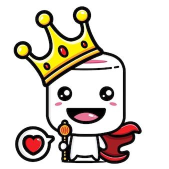 귀여운 마시멜로 왕