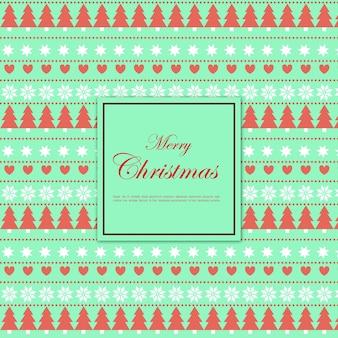 かわいいメリークリスマスカードdesgin