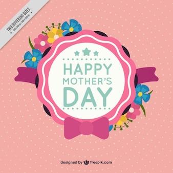 День матери симпатичные значок