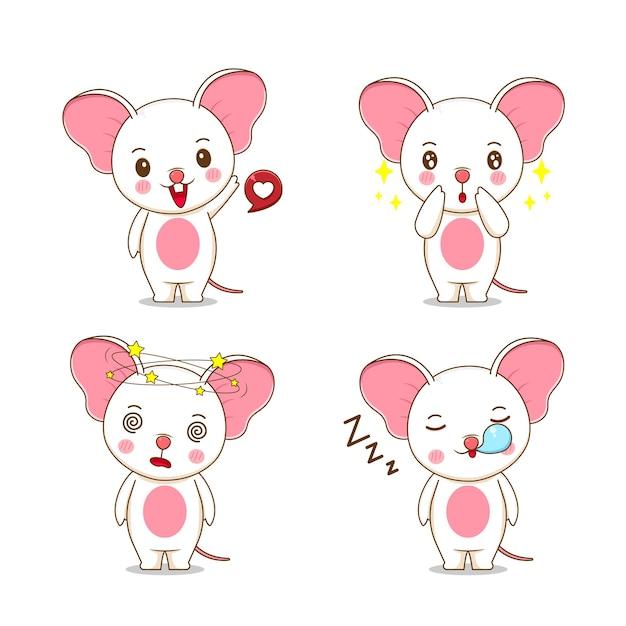 귀여운 마우스 캐릭터