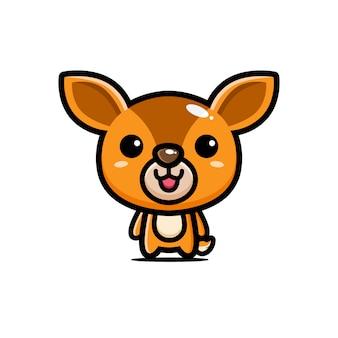 Cute mouse deer design