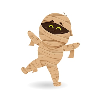 Cute mummy dancing