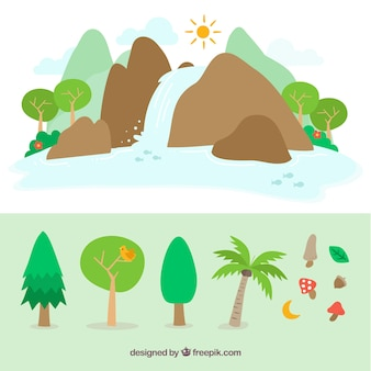 Cute nature designs