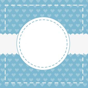 Cute pattern background cartoon
