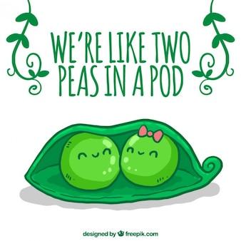 Симпатичные peads в любви
