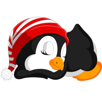 かわいいペンギンの漫画