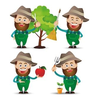 귀여운 사람-전문 농부