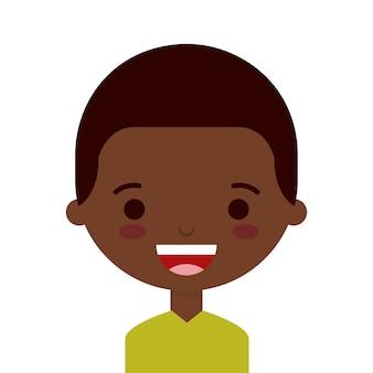 Cute person design, vector illustration eps10 graphic