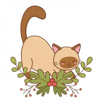 Cute pet animal cartoon vector illustration