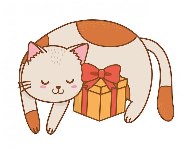 Cute pet animal cartoon
