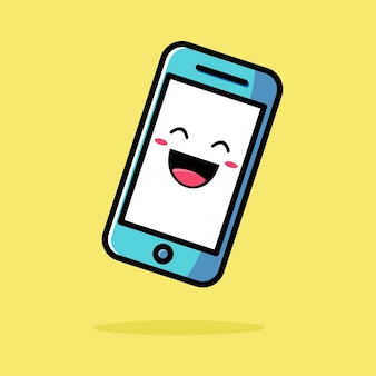 Милый телефонный мультфильм