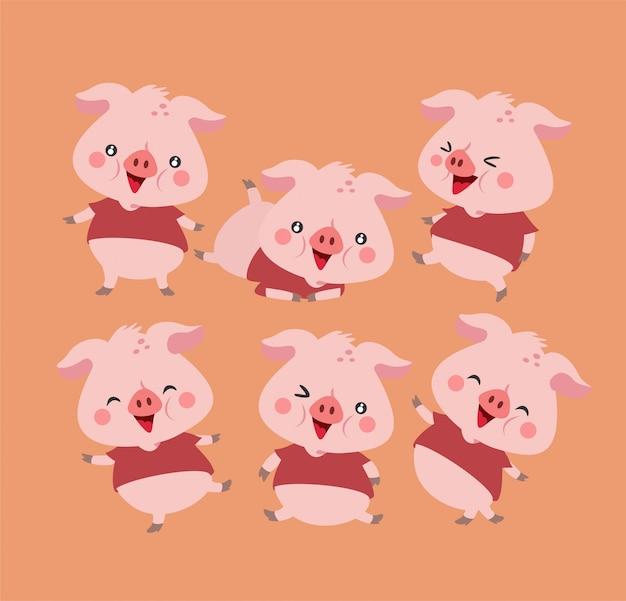 Cute piggy pack
