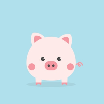 Cute piggy, year of the pig.