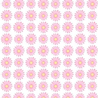 小さな花のかわいいピンクの花柄ditsyプリントデザイン