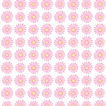 Cute pink floral pattern in the small flower ditsy print design