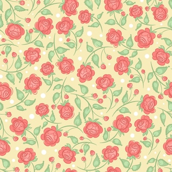 かわいいピンクのバラ