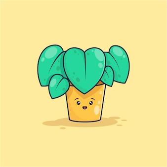 Симпатичные растения иллюстрации