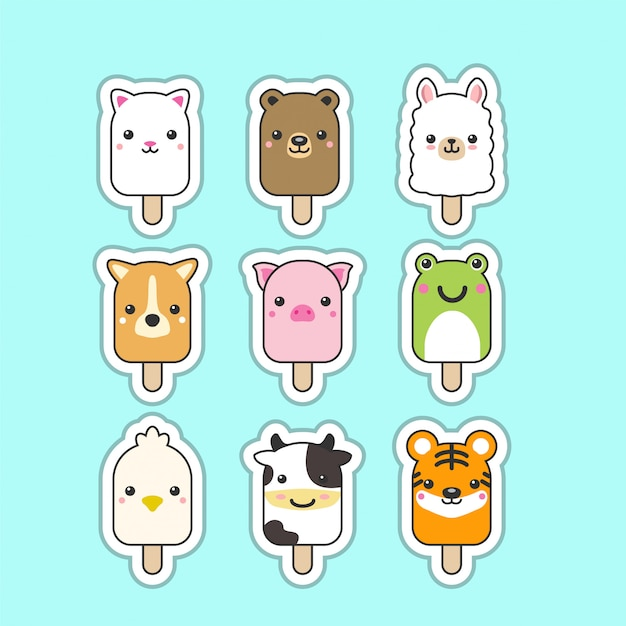 Cute popsicles