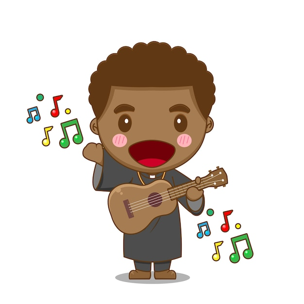 귀여운 신부 기타 연주