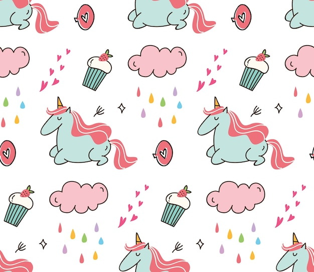 Cute print and pattern design