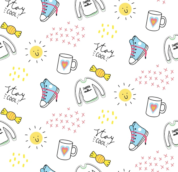 Cute print and pattern